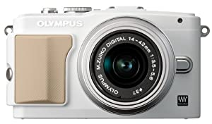 Olympus E-PL5 Interchangeable Lens Digital Camera with 14-42mm Lens (White)