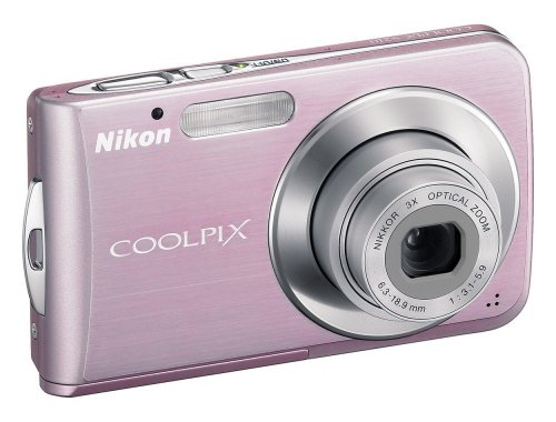 "Nikon Coolpix S210 Digital Camera - Sakura Pink (8.0MP, 3x Optical Zoom) 2.5"" LCD"