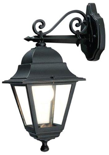 Sovil Illuminazione, APPLIQUE IN BASSO - linea quadrata, nera