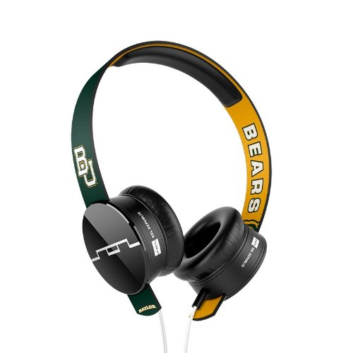 Sol Republic 1211-Bru Collegiate Series Tracks On-Ear Headphones With Three Button Remote And Microphone - Baylor