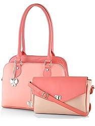 Butterflies Women's Handbag (Multi) (BNS CB055)