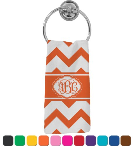 Chevron Hand Towel (Personalized) front-637170