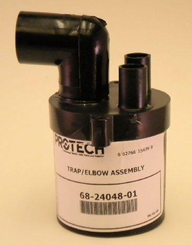 Rheem Ruud Weatherking OEM Protech 68-24048-01 Furnace Condensate Drain Trap