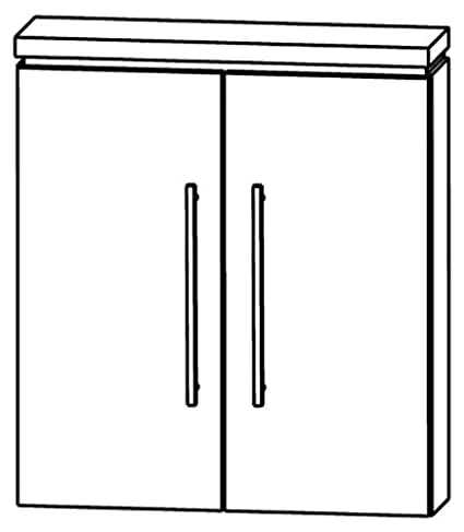 Perfect Cool Line Wall Cabinet Bathroom Furniture (OGA416 A5), 60 cm