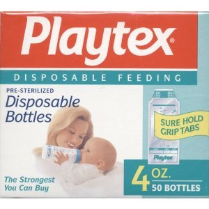 Playtex ULTRASEAL Disposable Liners - 4oz - 1