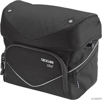 Racktime Barit Handlebar Bag: Black