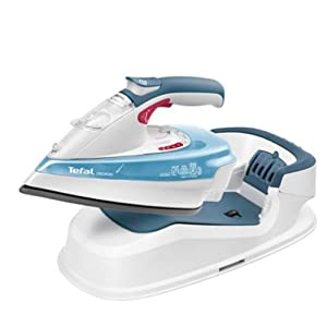 o0o Tefal FV9950KO Cordless Wireless Steam Iron Dry Clothes