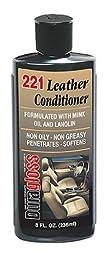 Duragloss 221 White Creamy Leather Conditioner - 8 oz.