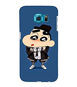 EPICCASE Suited Ching Shang Mobile Back Case Cover For Samsung Galaxy S6 (Designer Case)