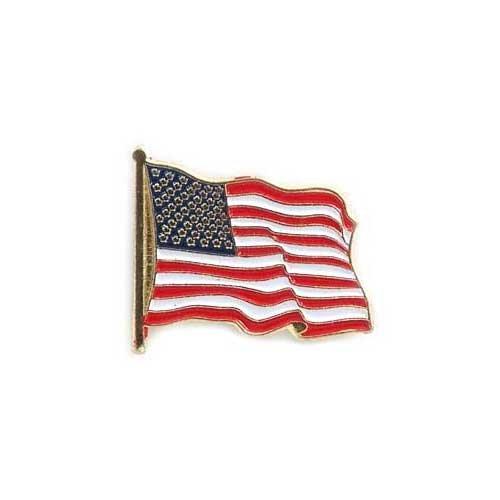 USA Flag Lapel Pin Standard