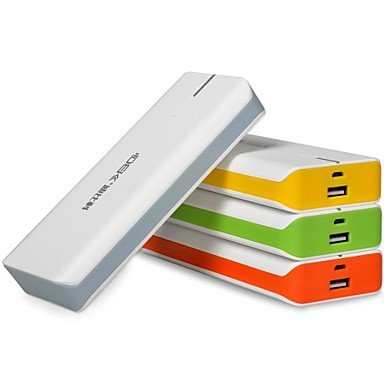 10000mAh Portable Mobile Power Battery Gray Photo