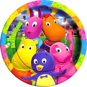 The Backyardigans Lunch Paper Plates, 8ct