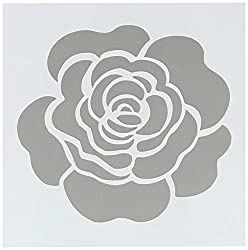 Folk Art 30604 Painting Stencil, Single Rose from Plaid Inc