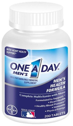 One-A-Day Multivitamin, Men's Health Formula , 200 Tablet  Bottle