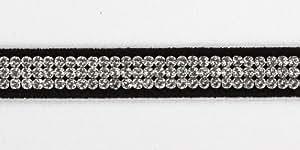 """Dog Collar Tres Giltmore by Susan Lanci - LG (12.5"""" - 14.5"""")"""