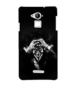 printtech Joker Gotham Scary Back Case Cover for Coolpad Note 3 Lite Dual SIM with dual-SIM card slots