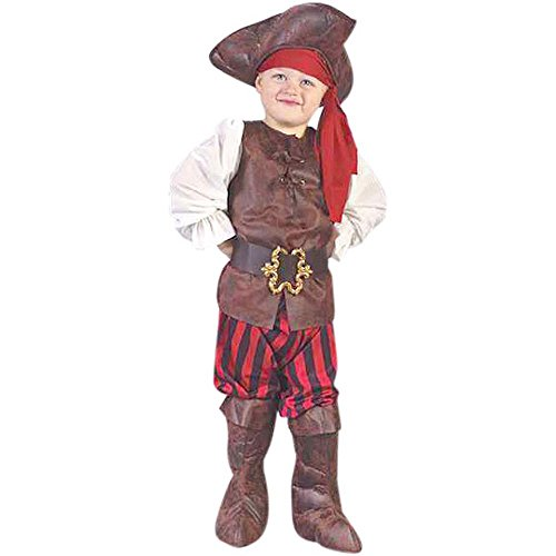 Child's Toddler High Seas Boy Pirate Costume (3-4T)