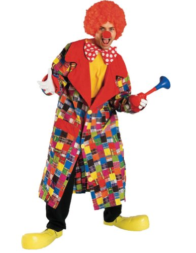 Patches The Clown Adult Costume Adult Mens Costume