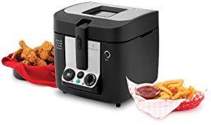 Amazon Com Wolfgang Puck Wpdfr070 Deep Fryer 3 Liter