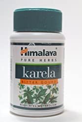 Himalaya Karela Bitter Gourd 60 Capsules
