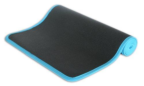Imagen de Wai Lana Yoga Urbano y Pilates Mat, Negro / Azul turquesa, Color Negro / Turquesa, Tamaño One Size