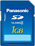 Panasonic SDメモリーカード 1GB RP-SDM01GL1A