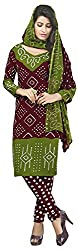 VSS Collections Women's Synthetic Unstitched Dress Material(1056,Multi-Color)