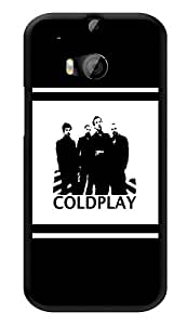 "Humor Gang Coldplay Upfront Printed Designer Mobile Back Cover For ""HTC ONE M8 - HTC ONE M8S"" (3D, Glossy, Premium Quality Snap On Case)"