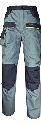 Deltaplus 5427722 M2-Corporat Mcpan Pantaloni Panoply, Taglia L, Grigio/Bicolor