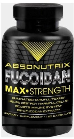Absonutrix Fucoidan Pure-Brown Seaweed Extract Laminaria Japonica Cell Immunity (Pack Of 2, 120 Capsules Each)
