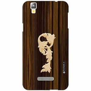 Yureka Plus Back Cover - Silicon Wood Designer Cases