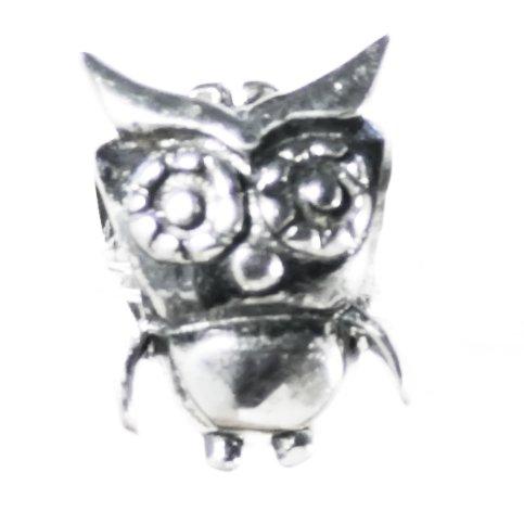 Bella Carina Eulen Bead 925 Silber