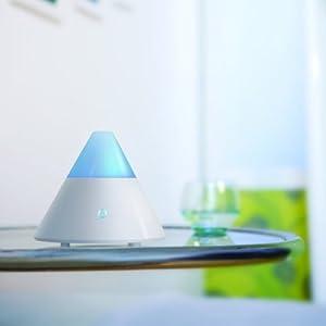 ZAQ Noor Essential Oil Diffuser LiteMist Ultrasonic Aromatherapy