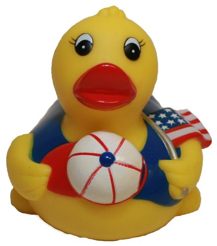 Rubber Duck All American Pledge Of Allegiance, Waddlers Brand Patriotic Rubber Ducks That Float Upright, All American Patriotic Themed Birthday Gift, All Depts. America Proud Gift front-352769