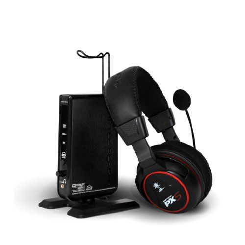 Ear Force Px5 Programmable Wireless 7.1 Dolby Digital Surround Sound Headset With Bluetooth