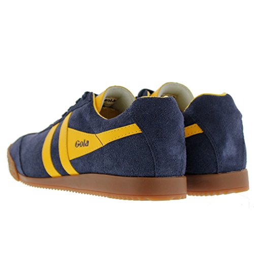 Gola Sport Womens Harrier Navy Suede Trainers 6 US