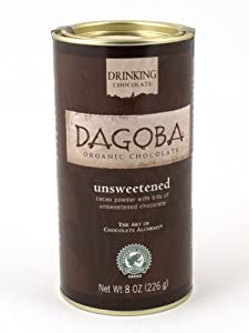 Dagoba Organic Chocolate Fair Trade Certified Cacao Powder 8 Ounce