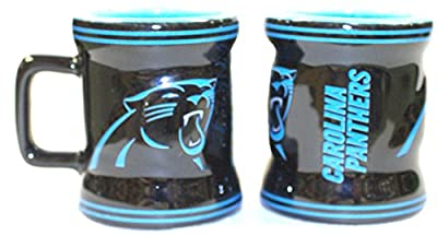 NFL Officially Licensed Carolina Panthers Mini Mug Ceramic Shot Glass