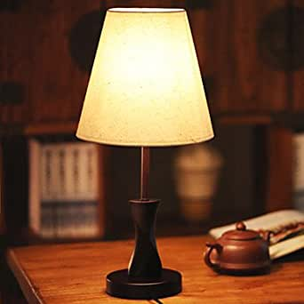 Wooden Table Lamp Modern Minimalist Fashion Creative Living Room Lamps And Dimming Lights