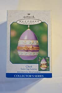 Chick Easter Egg Surprise Ornament (2000)