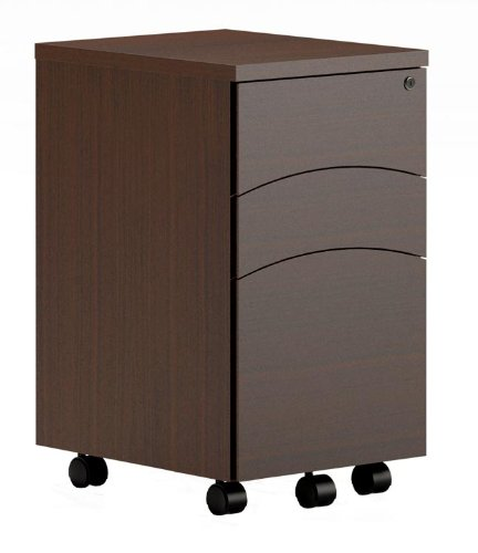 Mayline Office Furniture 3 Drawer Mobile File