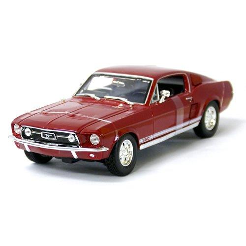 1/18 1967 Ford Mustang GTA FastBack RD Maisto 【フォード,マスタング ,ダイキャストカー,クラシック,第一世,ミニカー】