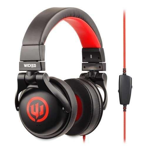 Wicked Wi8700 Solus Headphone - Black/Red