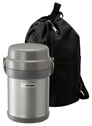 Zojirushi SL-JAE14SA Mr. Bento Stainless Steel Lunch Jar, Silver (Zojirushi Thermos Bento compare prices)