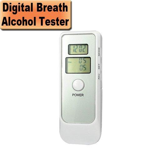 5 en 1 Souffle LCD numérique alcool testeur alcootest
