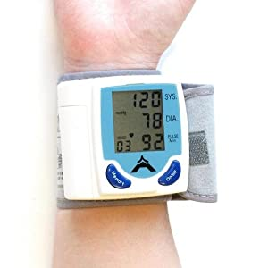Click to buy Healthy Blood Pressure: Digital Wrist Blood Pressure Monitor & Heart Beat Meter from Amazon!