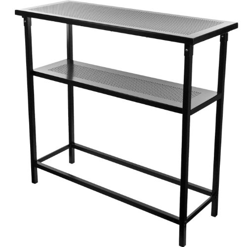Deluxe Metal Portable Bar Table W/ Carrying Case (99-5310) - front-1062364