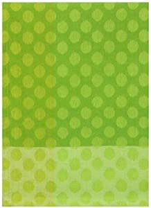 "100% Cotton Lime Green 18""x28"" Dish Towel, Set of 6 - Dots Lime"