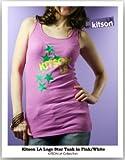 【キットソン】【kitson LA】ロゴstarスターデザインタンクトップ