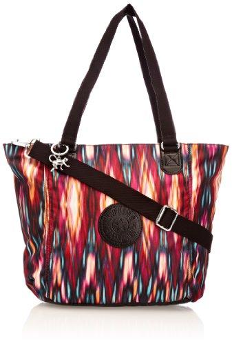 Kipling Womens Shopper Combo S Tote K12275B52 Carnival Black C